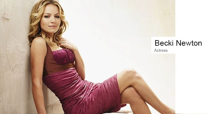 Becki Newton medium curls hairstyle http://zntent.com/becki-newton-medium-curls-hairstyle/