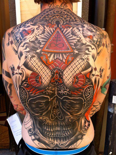 Traditional and Japanese Tattoos by Iain Mullen