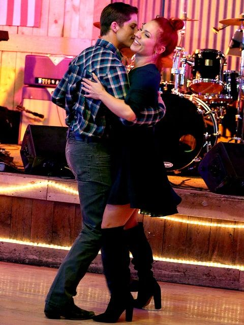 Sharna Burgess and Bonner Bolton at a LA bar March 22,  2017. Sharna is so I like him and don't know what to do about it.  I'll tell you. Go get him!