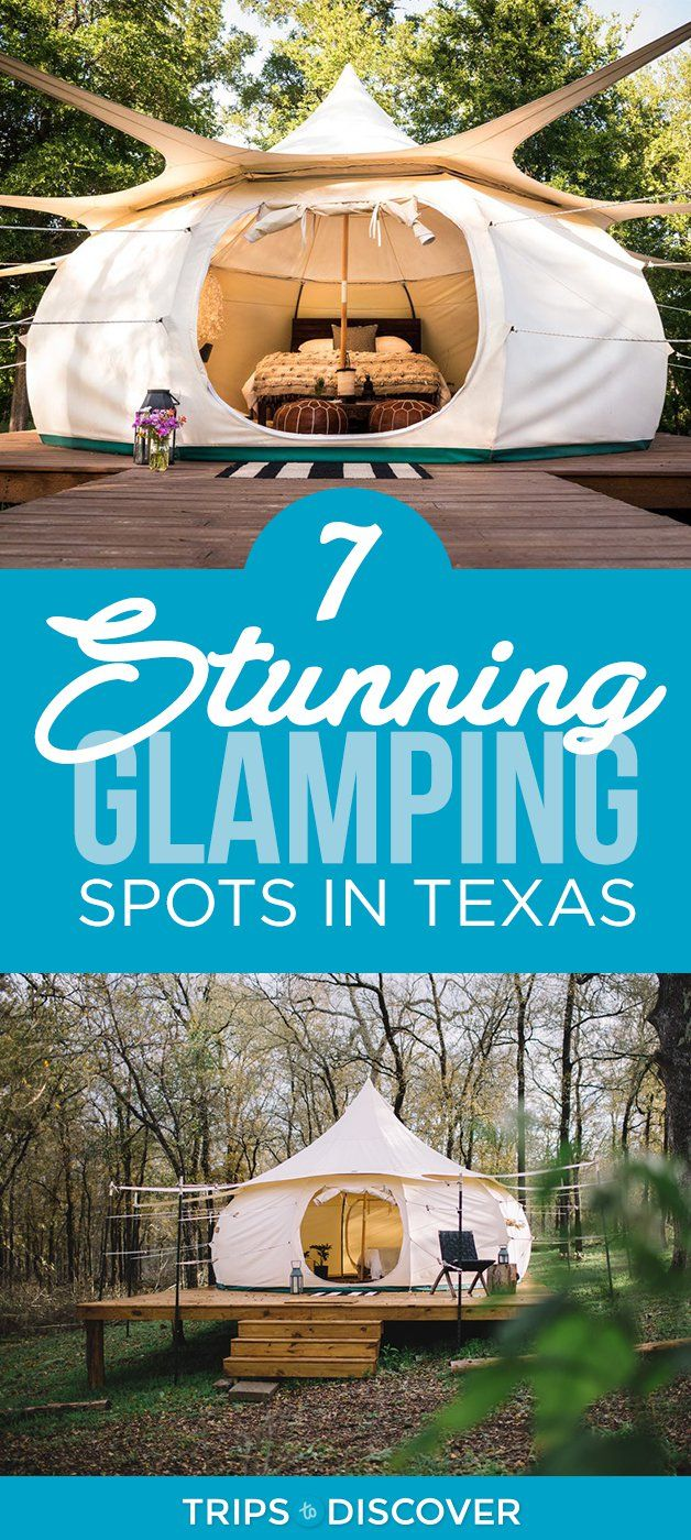 7 Stunning Glamping Spots in Texas