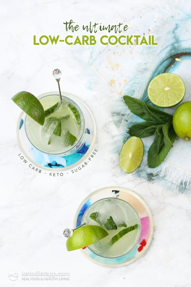 The Ultimate Low-Carb Cocktail (sugar-free, keto)