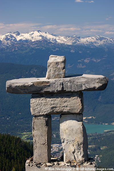 Inukshuk Sculpture Northwest Territories, Canada