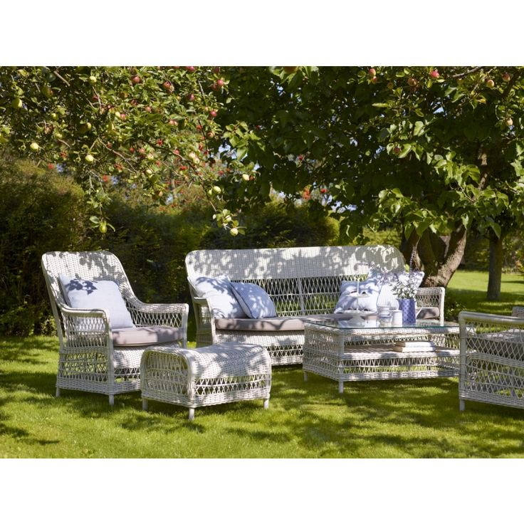 Georgia Garden Dawn Lounge 3 Sitzer Sofa Von Sika Design Gartensofa Aussenmobel Gartensessel