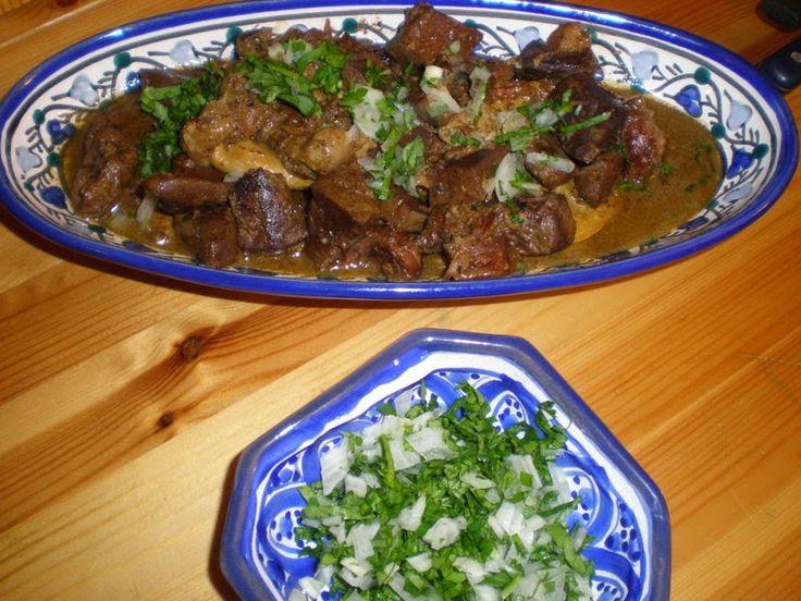 klaya de laid el kebir foie coeur et viande de mouton plus belle la vie tunisia. Black Bedroom Furniture Sets. Home Design Ideas