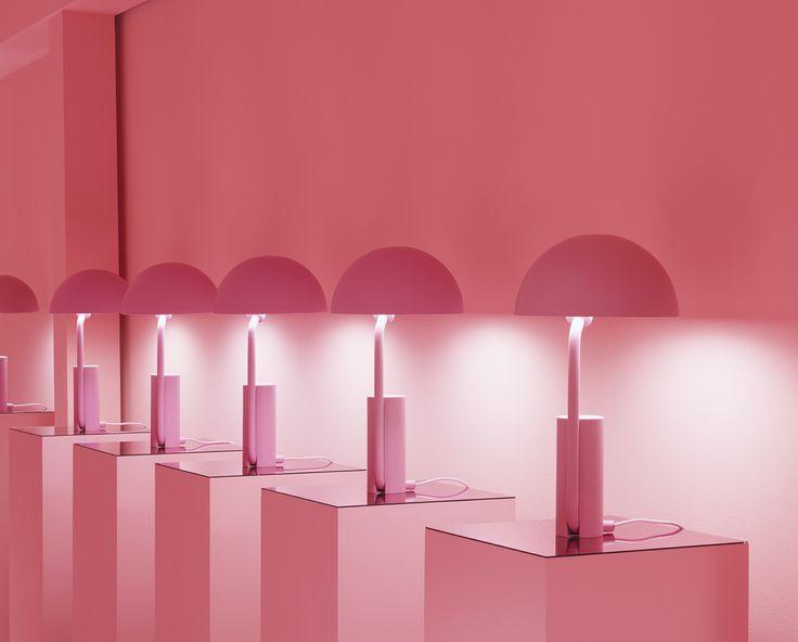 Cap lamps by Normann Copenhagen