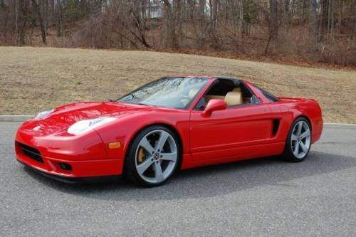 2005 Acura Nsx Base 2dr Coupe Red For Sale On Craigslist
