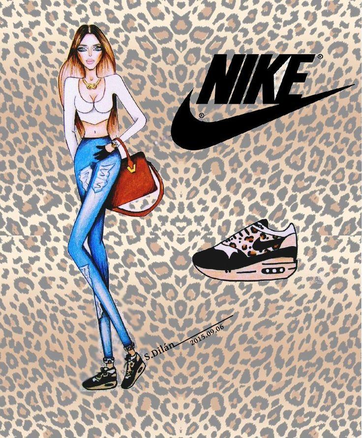 Nike Air Max    #NIKE #nikeairmax #sport #shoes #seventeen  #buzzfeed #illustration #art #Share