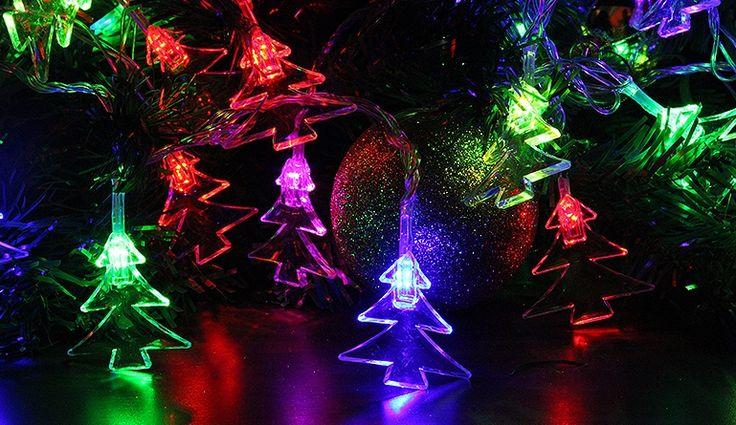 Lampki świąteczne 28 LED - choinki Polandi