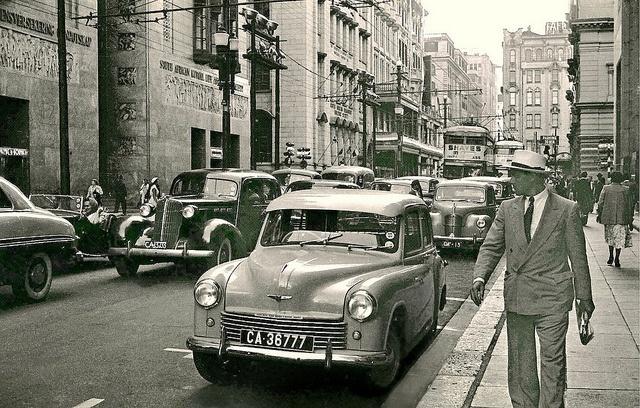 Darling Street   1953. by Etiennedup, via Flickr