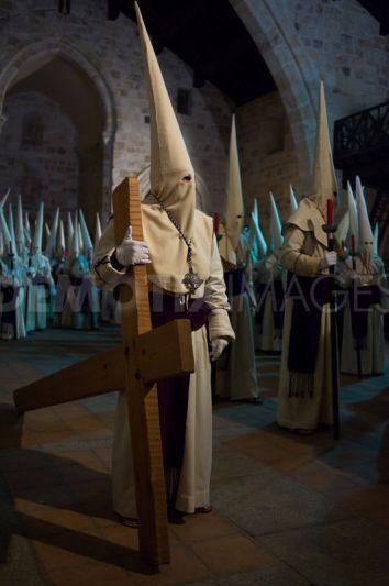 Occult Procession of Jesus, Penitents procession of Jesus Yacente Nazi brotherhood