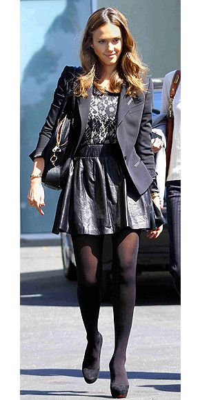Jessica Alba Fashion Style