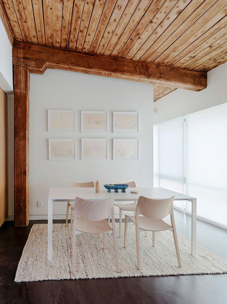 Лофт в помещении старой фабрики в Бруклине | Пуфик - блог о дизайне интерьера