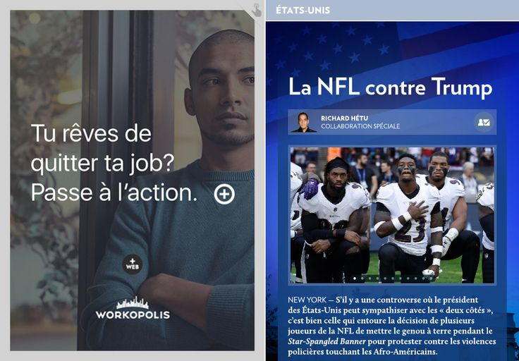 La NFL contreTrump - La Presse+