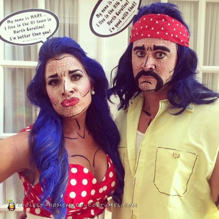 funny stepford wife and redneck pop art costume - Art Costumes Halloween