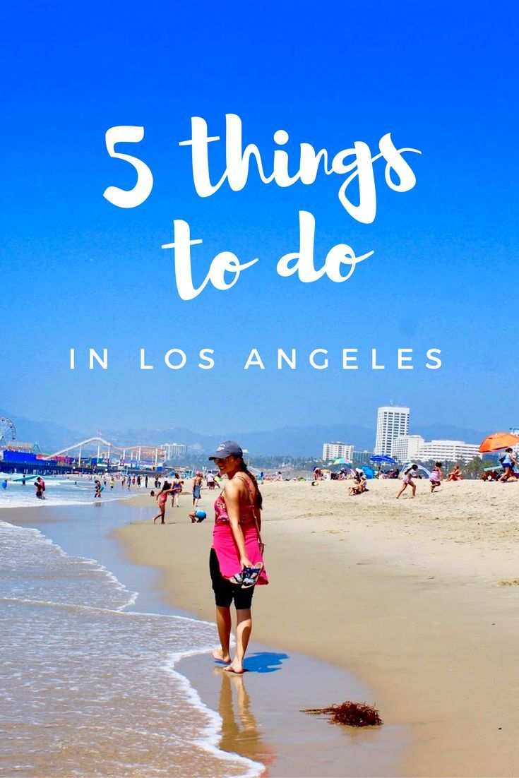 Must-see Things To Do In Los Angeles! Venice Beach, Santa