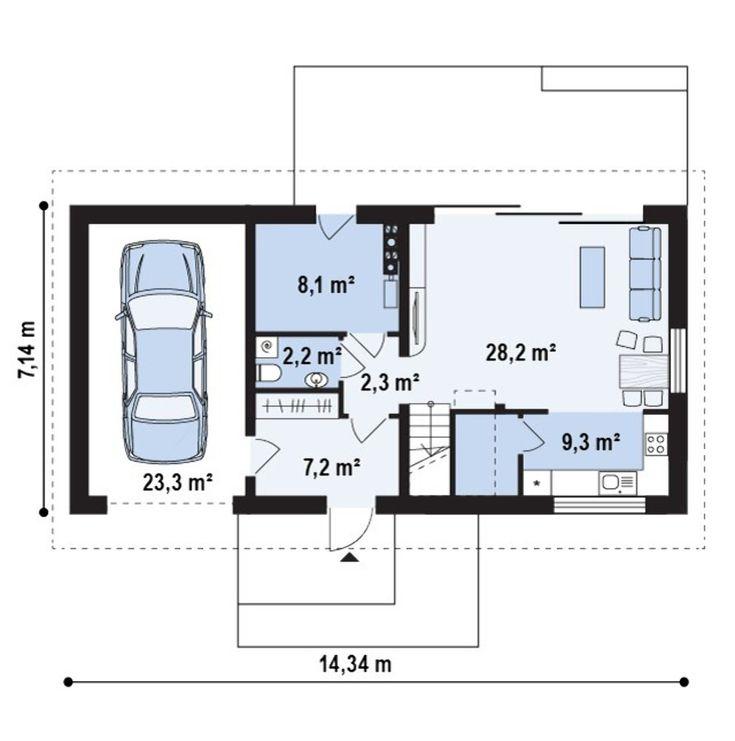 Проекты домов для узких участков – лучшие цены на готовые проекты узких домов в Украине и Киеве | DOM4M