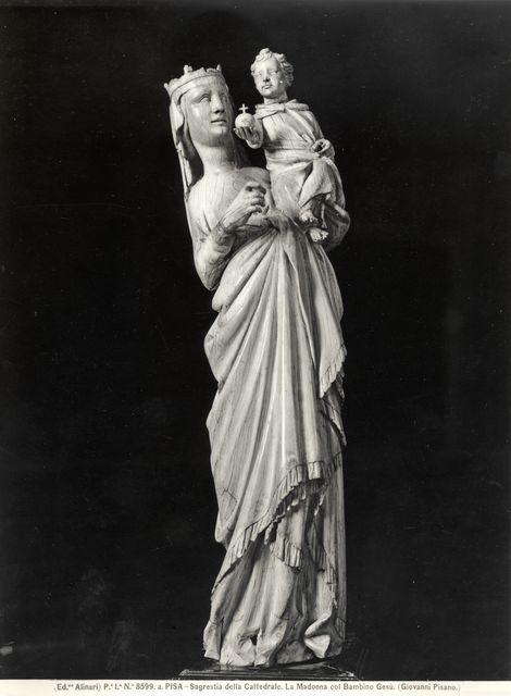 Giovanni Pisano, Madonna con il Bambino, 1298-99. Pisa, Museo del Duomo