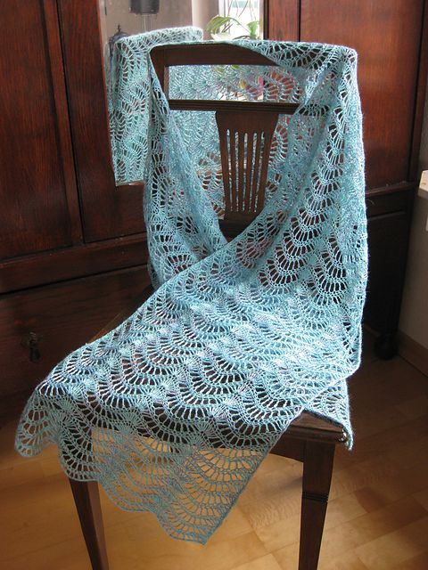 Ravelry: Lacy Feather and Fan Pattern pattern by A. Westbrook