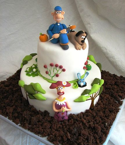 wallace and Gromit by cake ideas, via Flickr