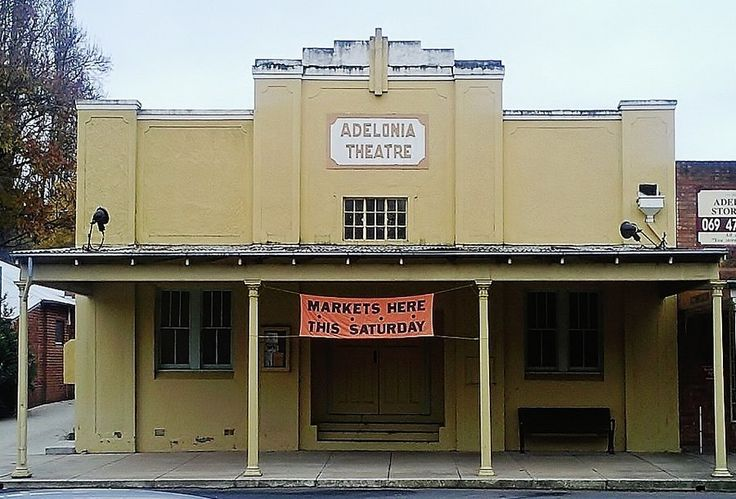 The Adelonia Theatre was privately built in the 1920's and gifted to the Adelong community in the 1960's.