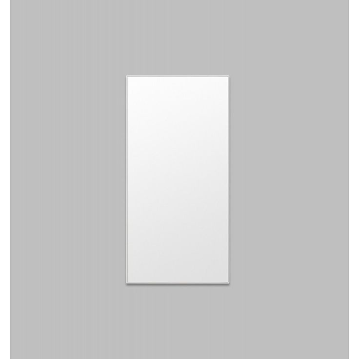 Flynn Leaner Mirror in White
