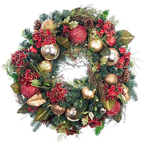 Best 25+ Artificial Christmas Wreaths Ideas On Pinterest