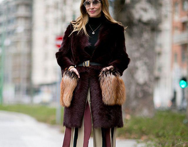 Неделя моды в Милане, осень-зима 2016: street style. Часть 2 (фото 18)