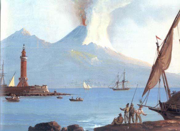 Gigante : Eruzione del vesuvio di 1831