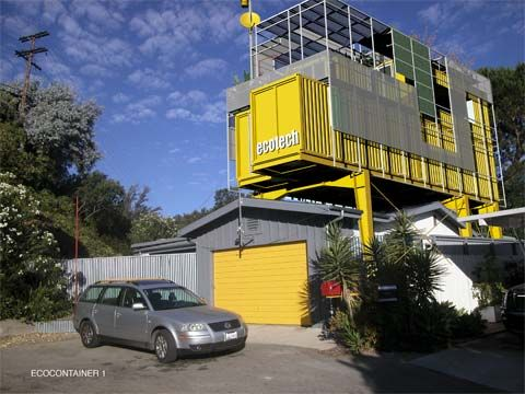Shipping Container Add On A 1950 S Bungalow In The