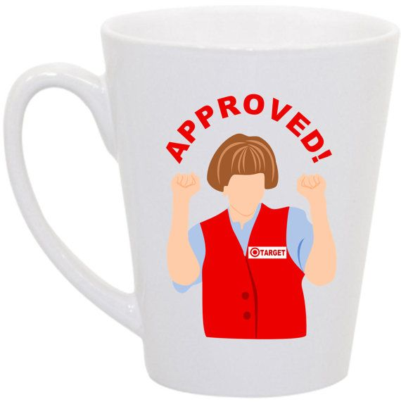 Hey, I found this really awesome Etsy listing at https://www.etsy.com/listing/169142935/target-lady-snl-coffee-mug