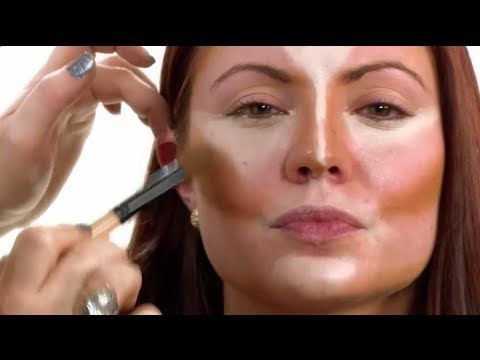 How to Contour Your Face Shape | NewBeauty Tips and Tutorials - YouTube