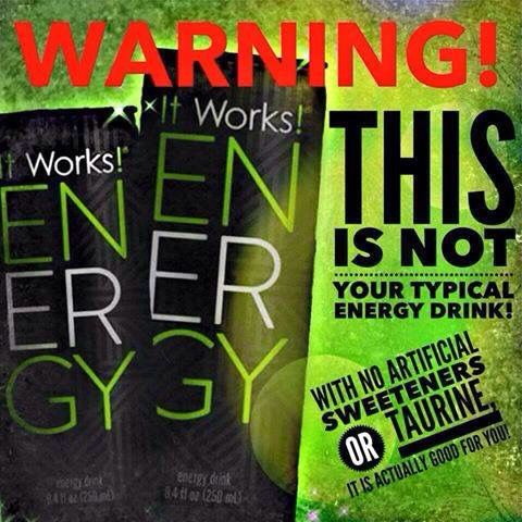 Looking for a healthy #energydrink? Coming March 5,2015!  Order here: http://Rhondab.myitworks.com