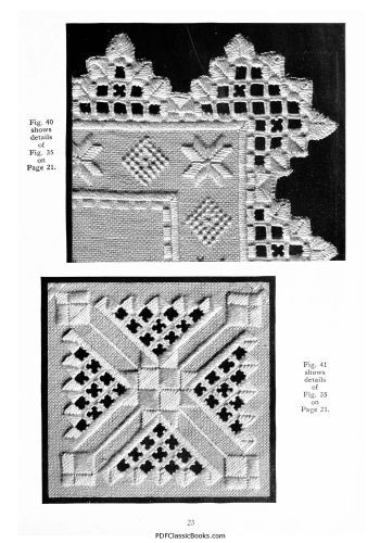 norwegian embroidery patterns | Instructions and Designs for Hardanger or Norwegian Embroidery, T.B.C ...