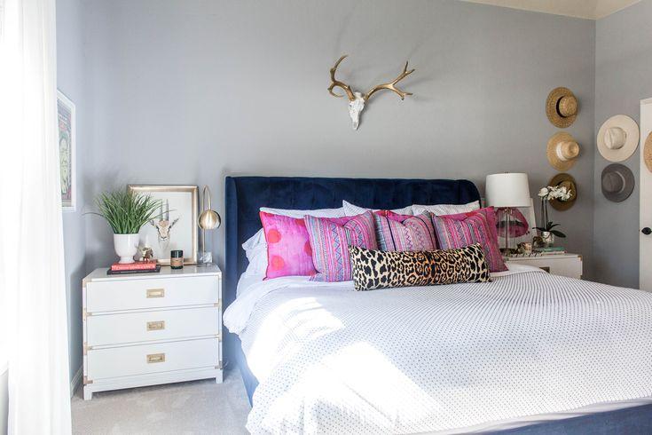 Master bedroom. Duvet — West Elm (sold out).