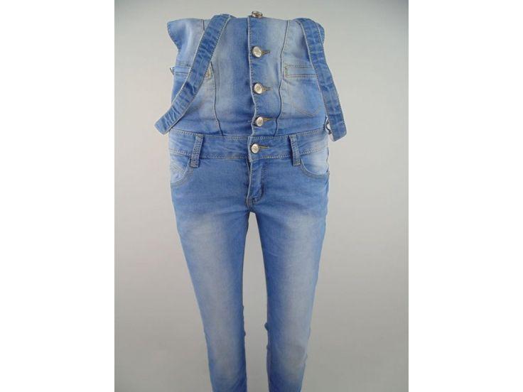 Štýlové dámske slim-fit džínsy na traky Mery. Svetlé. Rôzne veľkosti.