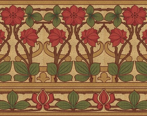 briar rose   historic wallpapers   victorian arts