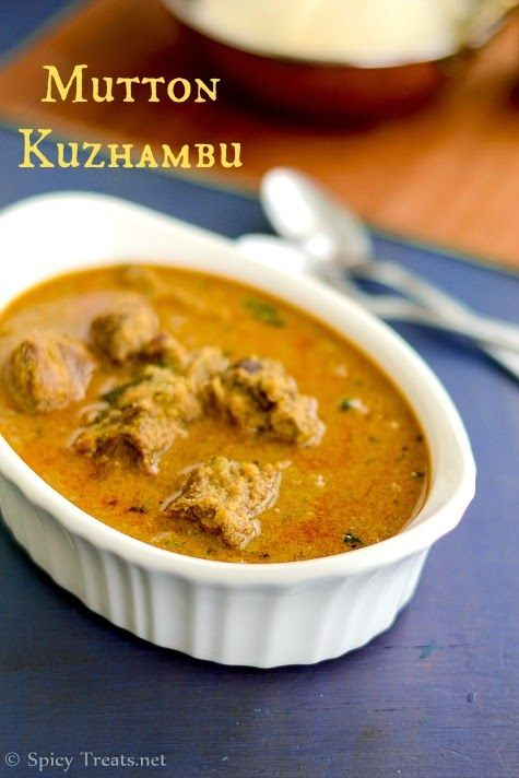 261 best recipes indian cuisine images on pinterest indian spicy treats mutton kuzhambu recipe south indian style mutton currywith coconut forumfinder Gallery