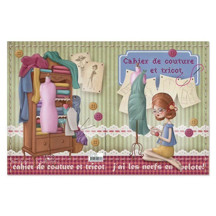 nina de san | ... et de tricot nina de san cahier de couture et de tricot nina de san