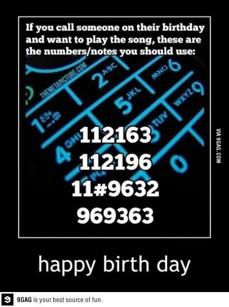 Happy birthday song!