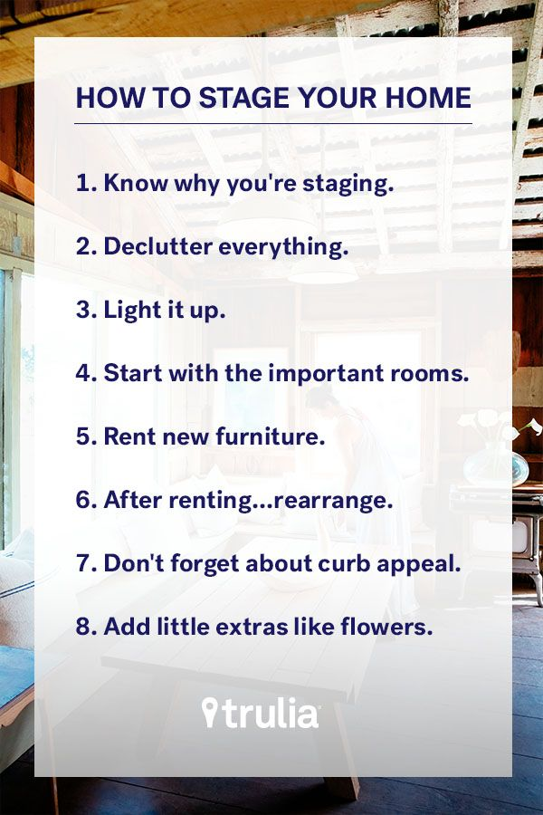 how to get your house ready to sell fast