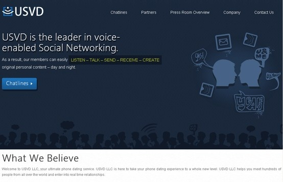#WebDesign - Check out our client USVD, a leader in voice enabled social networking. There are professional standards maintained in developing your portals and CMS. Lay down your requirements to us and we will discuss out the rest.