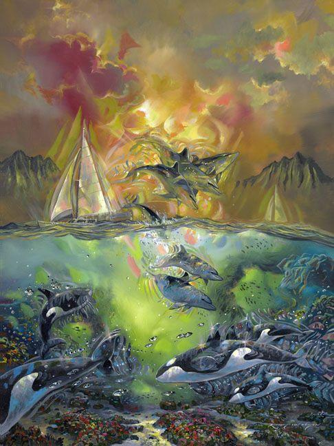 Mejores 114 imágenes de Under the Sea Art en Pinterest | Arte del ...