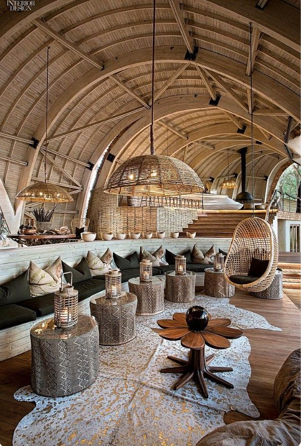 Textured rattan combined with hides and raw woods. Trend inspiration for our April Natural Wonders shoot.