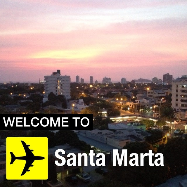 A todos los viajeros que por estos días están en la ciudad, Santa Marta les da la bienvenida con coloridos atardeceres. No se los pueden perder.