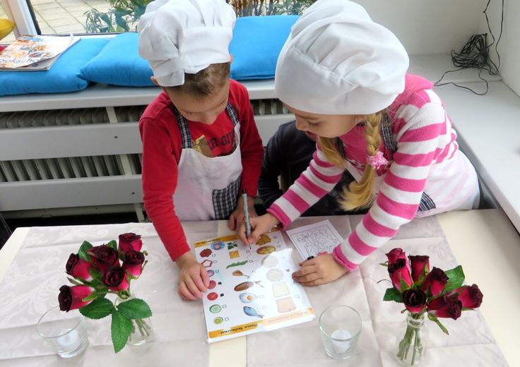 Bestellijst invullen, thema restaurant voor kleuters, download de lijst van kleuteridee.nl