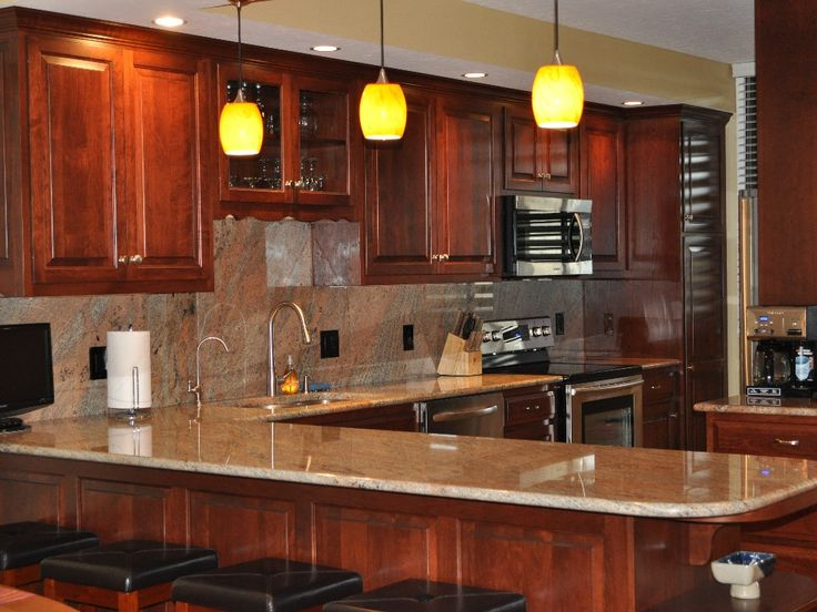 Kitchen Cabinets Cherry Wood 46 best cabinets images on pinterest | kitchen ideas, cherry