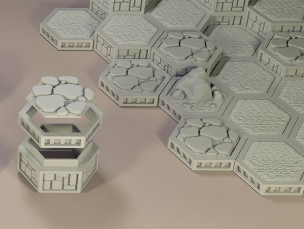 Open Board Game. Single Cap Brick by ThinkerThing - Thingiverse