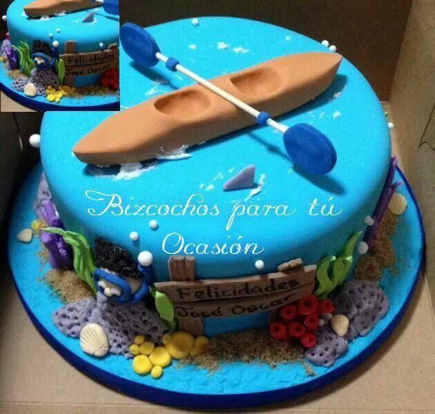 Kayak Cake Cakes And Cupcakes Ideas Tortas Reposteria