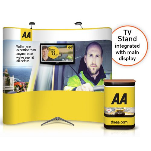 Exhibition Stand Tv Screen : Best pop up display designs images on pinterest