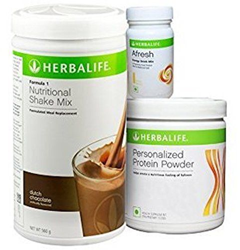 Herbalife Formula 1 Weight Loss Program - Diet Nutritional Shake Protein Powder Mix, Natural Organic Meal Replacement Shakes for Men and Women * You can find out more details at the link of the image.